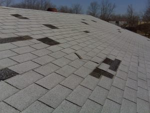 Hail Damage Roof Repair