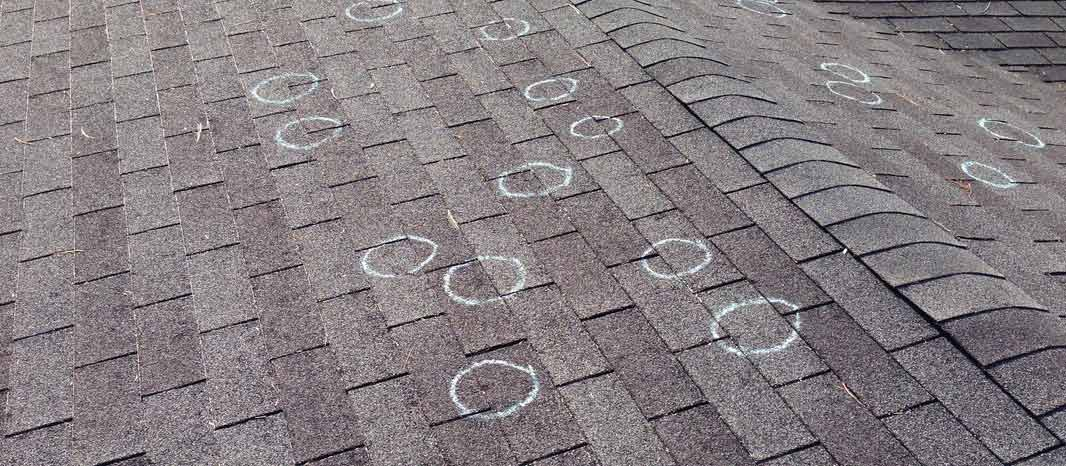 Hail Damage Roof Repair Best Commercial Roofers In
